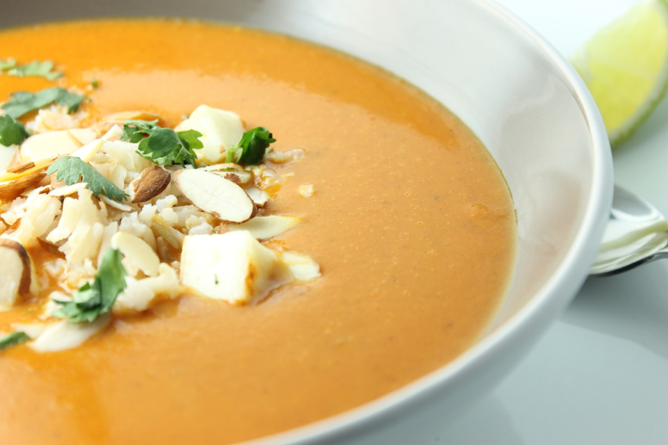Curried Coconut Tomato Soup