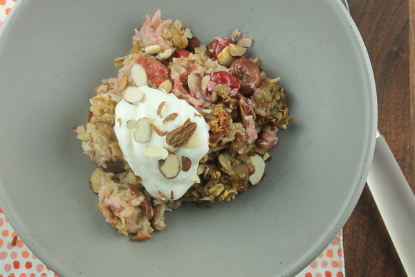 Cherry Almond Oatmeal-2