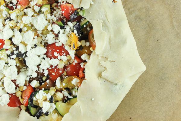 Summer Vegetable Tart-6