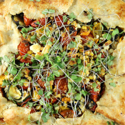 Summer Vegetable Tart-8