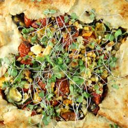 Summer Vegetable Tart-8