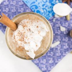 Salted Caramel Chai Smoothie @ http://www.tinyredkitchen.com