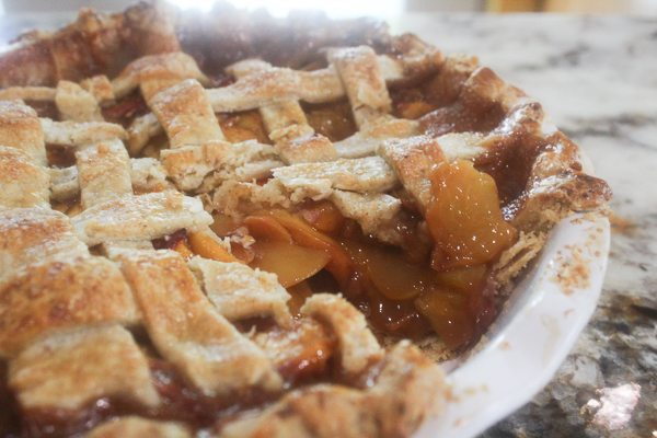 Peach Pie with Browned Butter Crust